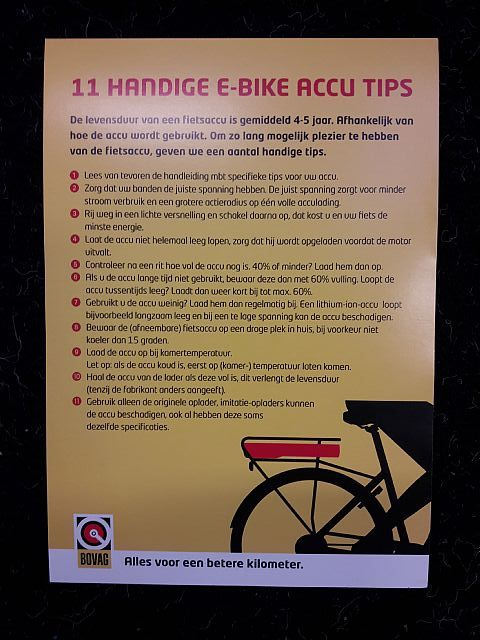 11 Handige E-Bike accu tips.